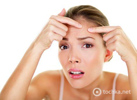 Підвищення жирності шкіри та волосся