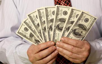рахування грошей допоможе заспокоїтись