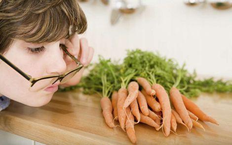Морква корисна не тільки для зору