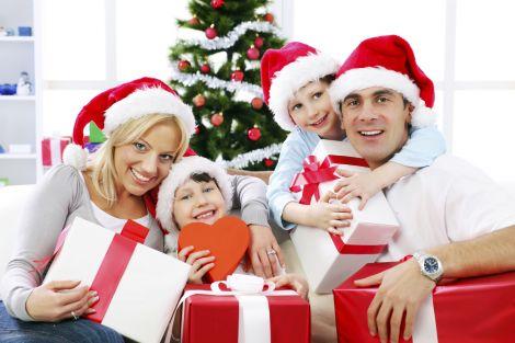 Новорічні свята у родинному колі