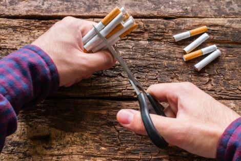Боротьба з нікотиновою залежністю