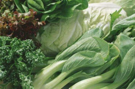 Листові зелені овочі
