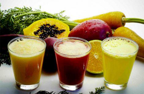 Трьохденна дієта на соках