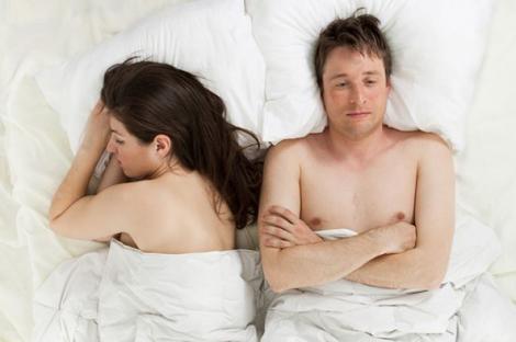 страх у ліжку з партнером