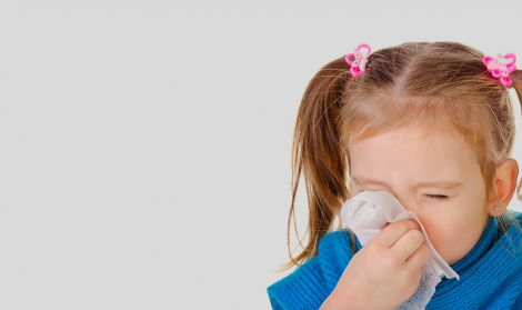 Лікування нежитю у дітей