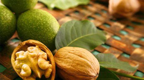 Вживання волоських горіхів