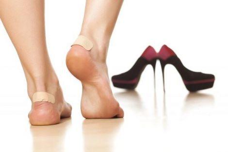 Натертості на ногах