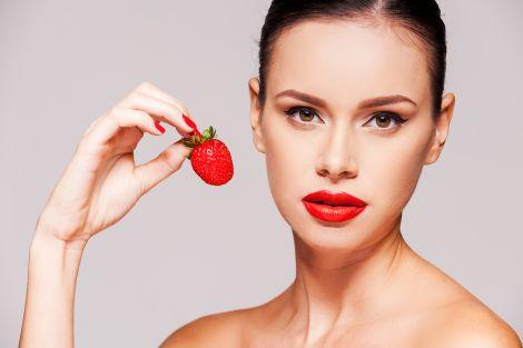 Три косметичні рецепти з полуницею