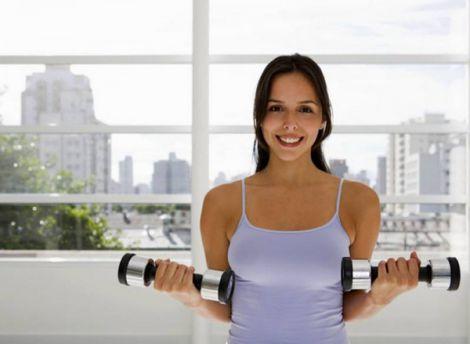 Комплекс домашніх вправ з гантелями (ВІДЕО)