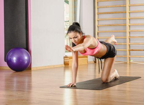 Ефективні вправи для зміцнення хребта