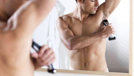 Чоловічі пахви потрібно голити