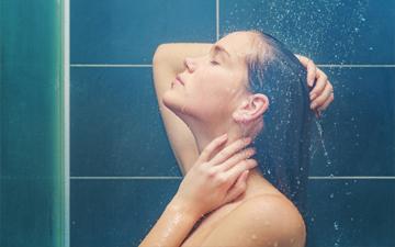 приймати душ слід правильно