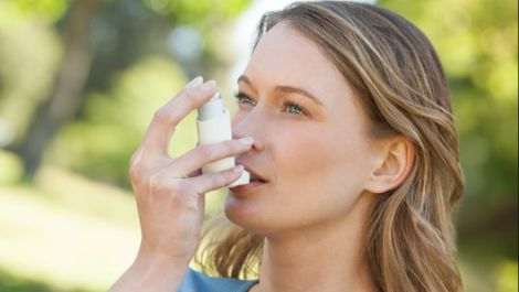 Допомога під час нападу астми
