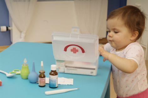 Ліки у дитячій аптечці