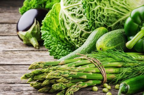 Продукти зеленого кольору
