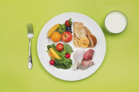 Ідеальна порція їжі для чоловіків та жінок