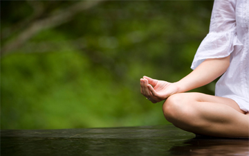 медитація дозволить ефективно відпочити