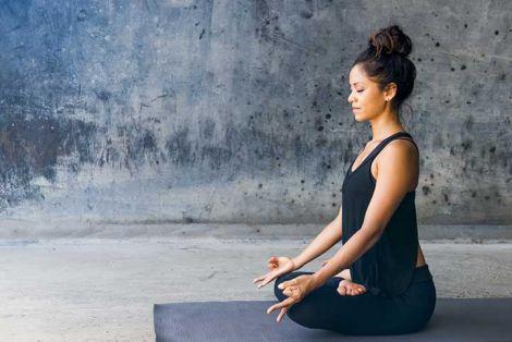 Процес медитації розслабляє