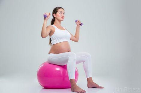 Корисні вправи для вагітних (ВІДЕО)