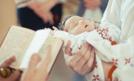 Дитина заразилась герпесом під час хрестин
