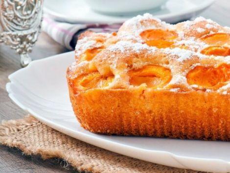 Пиріг з лимонно-абрикосовим кремом