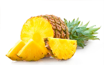 ананас слід вживати з калорійними стравами
