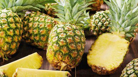 Від болю в спині допоможе ананас