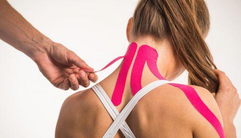 Користь тейпування для суглобів