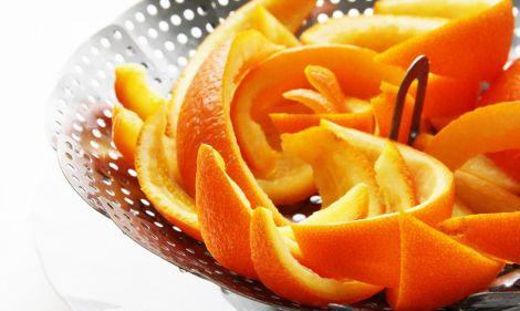 Апельсинові шкірки також можна використовувати
