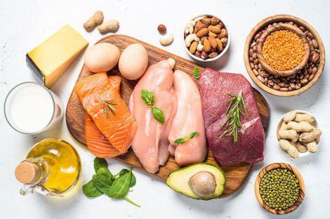 Продукти-лідери по вмісту білків