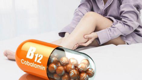 Ознакою дефіциту вітаміну B12 виявилося незвичайне відчуття в ногах