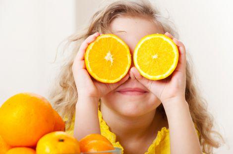 Апельсини можуть впливати на зір