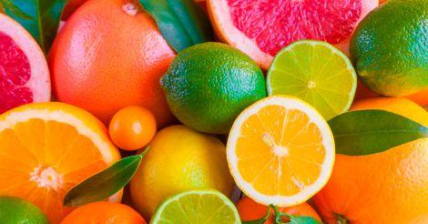 Цитрусові фрукти