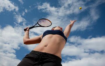 Теніс - інтелектуальний вид спорту