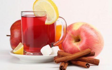 Яблучна вода з корицею