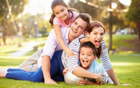 Счастливые выходные с родными