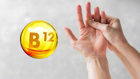 Незвичайне відчуття в руках вкаже на дефіцит вітаміну B12
