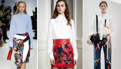 Модні жіночі блузки 2017