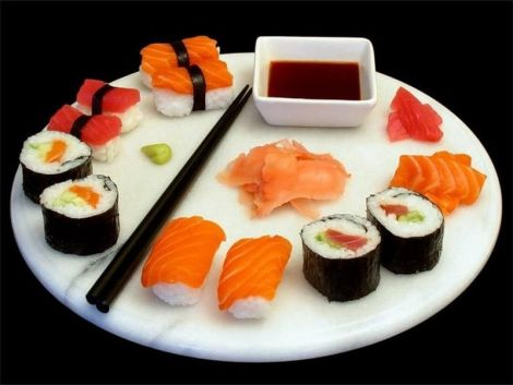 страви японської кухні є дуже популярними