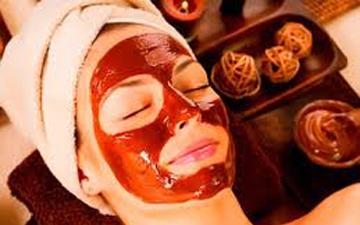 маска з какао зробить шкіру матовою