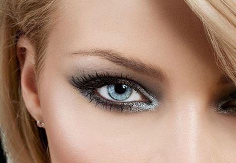 Денний макіяж для сірих очей