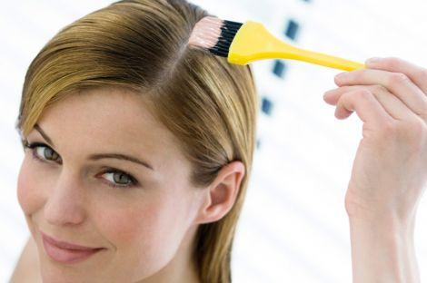 Натуральна маска для волосся з хною