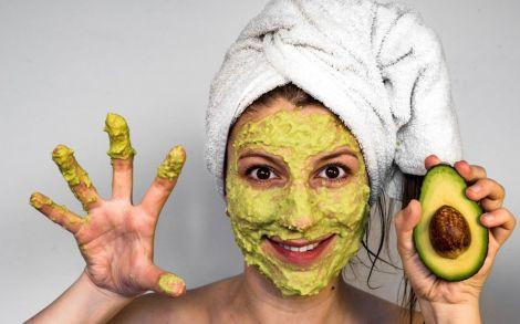 Вівсяна маска з авокадо