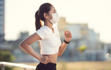 Тканинна маска не завадить тренуванням