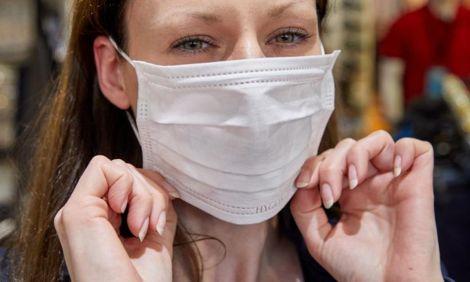 Вплив медичної маски на шкіру обличчя