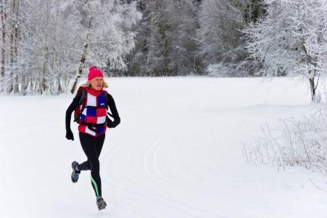 Користь зимових пробіжок