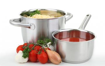 посуд впливає на якість їжі