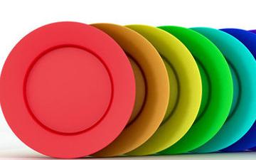 колір посуду вплине на смак їжі