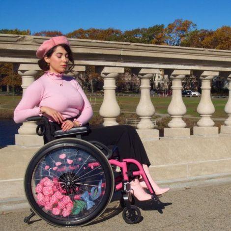 Елсі Телліер - модниця на інвалідному візку