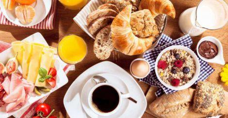 Корисні продукти на сніданок